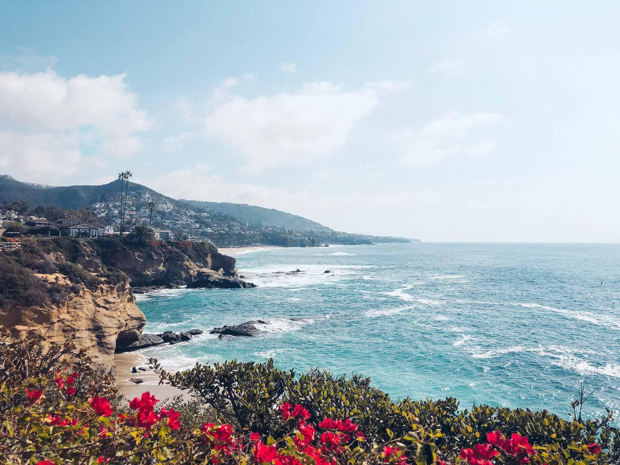 Adventure Laguna Beach California Tank Top Sustainable  Beach Bohemian Surf Style Hand-crafted